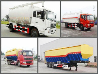 Bulk feed transport truck 30cbm