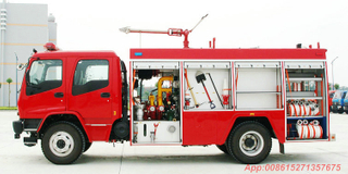 ISUZU FTR/ FVR water tanker/foam /Dry Powder fire truck
