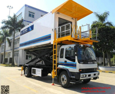 ISUZU Aircraft High Loader Catering Truck
