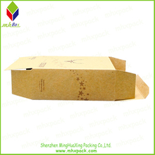 Foldable Cardboard Kraft Paper Gift Packaging Box