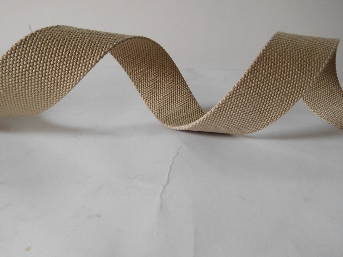 40mm polyester cotton webbing for mom bags belts