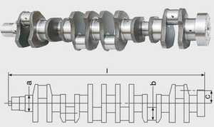 Cummins M11 ISM11 QSM11 Crankshaft 3073707 2882729