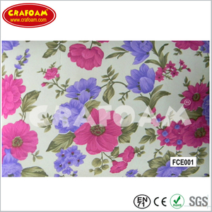 Flower Fabric EVA Foam Sheet