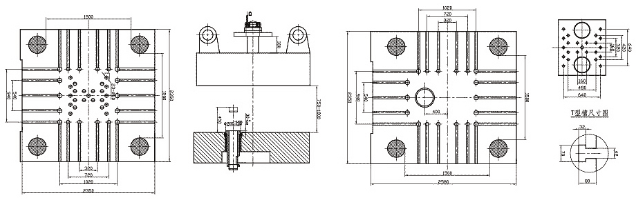 mold plate size of 2500tons/25000kN Cold Chamber Die Casting Machine