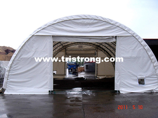 Large Dome Tent, Trussed Frame Shelter, Semicircle Warehouse (TSU-3040T/3065T)