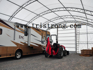 Trussed Frame Shelter, Large Tent, Large Warehouse, Prefabricated Building (TSU-4060, TSU-4070)