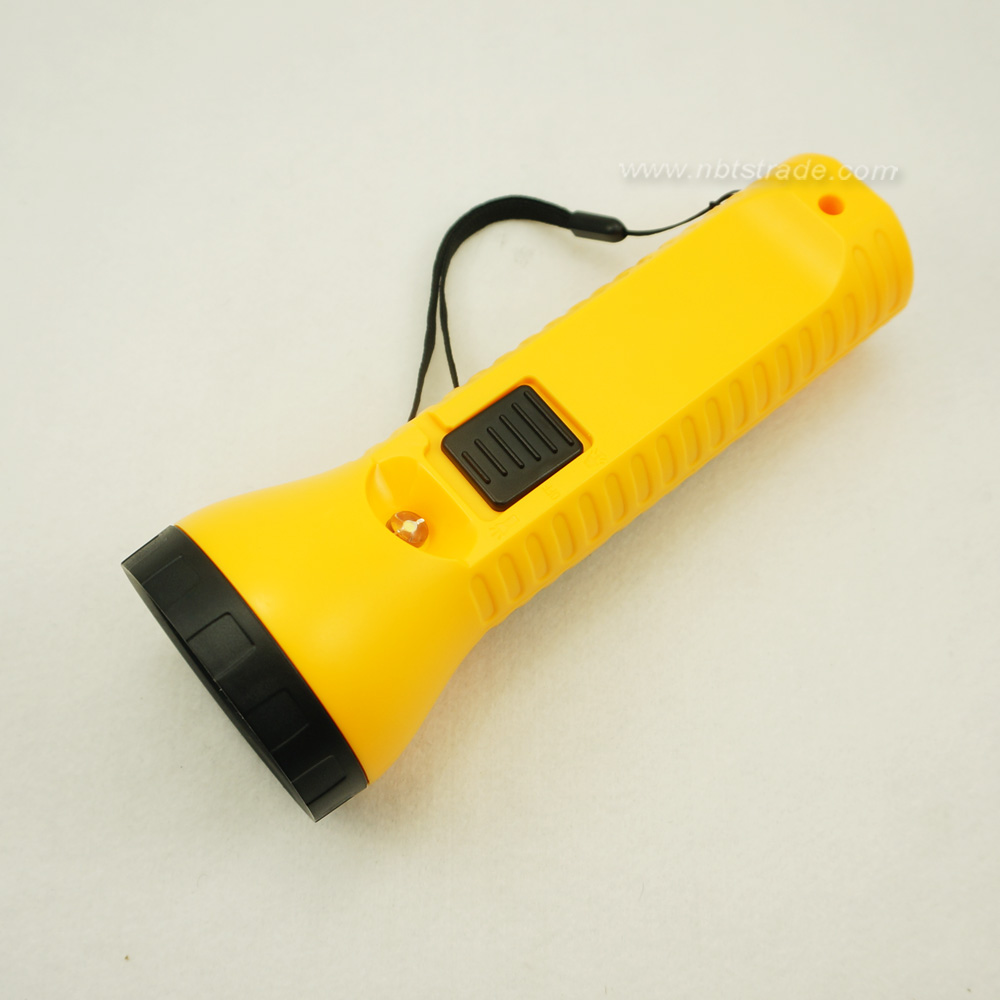 Rechargeable Solar Powered Torch with Reading Light
