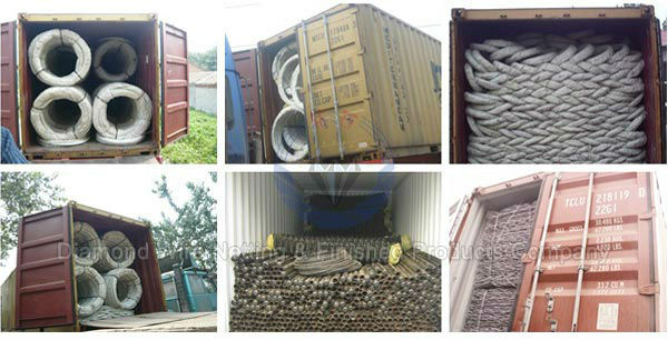 razor wire fence packing
