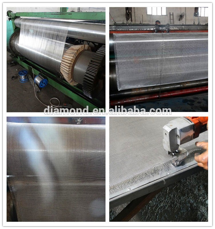 black wire cloth Producing Lines