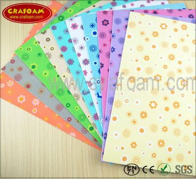 Color Printing EVA Foam sheets