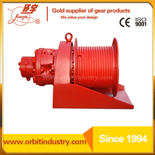 GW series standard hydraulic winch