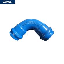DI ductile iron UPVC PVC pipe fitting 90 degree elbow