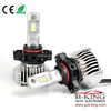Smallest P12 45W 6500lm universal PSX24W car led headlight with built-in fan( 100% suitable for all cars)