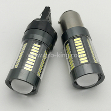 12V 18W 4014SMD 57SMD600LM 7440 1156 car led turning light