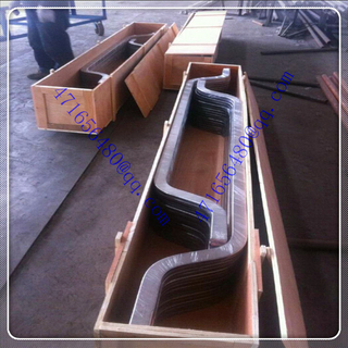 TI clad copper composite bar with bending ends for Petrochemical industry