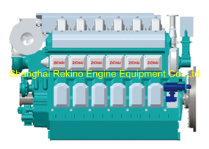 900HP-1350HP Zichai medium speed marine diesel engine (ZC6200)
