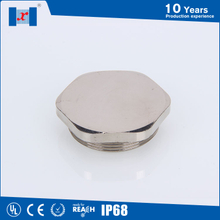 Hexagon brass screw cap