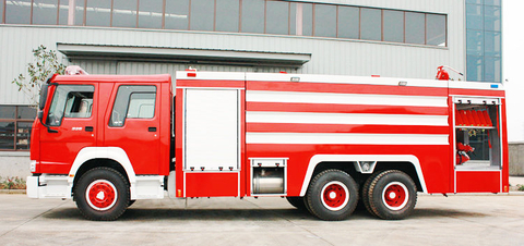 HOWO 6x4 Fire Trucks 12 cbm Water 60L/s ≥55m/1MPa<Customization LHD RHD>