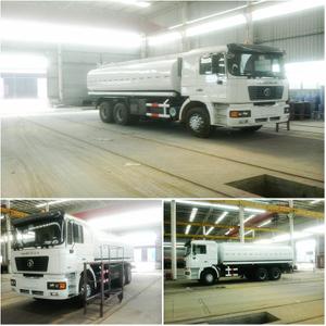 SHACMAN F2000 6x6 Tanker