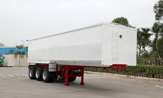 Tri-Axles Carbon Steel Tipper Semi-Trailer