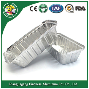 Disposable Aluminum Foil Containeraluminum Foil Tray for Cake Baking