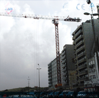 SP6010 Plus Chinese Manufactured Topless Tower Crane