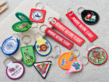 Embroidered Keyholders