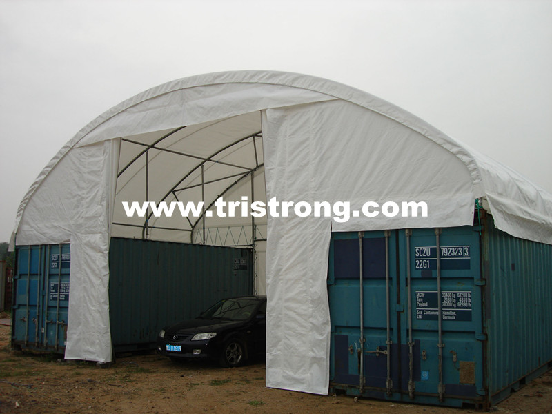 Container Shelter, Container Tent, Container Cover, Container Canopy (TSU-3620C/3640C)