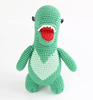 Hand Knitted dinosaur