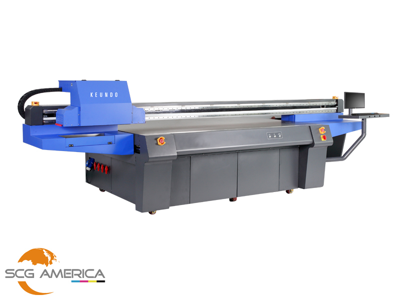 HQ2513 4'x8' LED UV Flatbed Printing Machine
