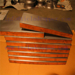 titanium clad copper composite sheet