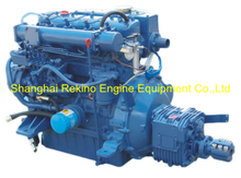 Siyang N485J-3 40HP 2800RPM 3000RPM marine diesel boat engine set for enclosed Yacht lifeboat