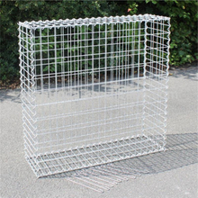 4.5mm Wire, 5*10cm Mesh, 100*50*50cm Galvanized Welded Gabion