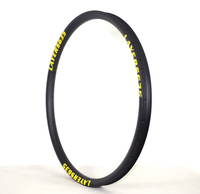 FREE SHIPPING MTB CARBON RIMS 26ER 35MM WIDTH TUBELESS