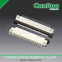 1.0S-CS-nPWB 1.0mm pitch FPC connector,with flip lock,top contact,SMT type