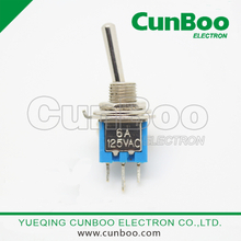 SMTS-102 3A Miniature Toggle Switch