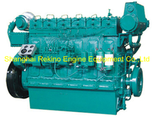 450HP 1000RPM Weichai medium speed marine boat diesel engine (R6160ZC450-1)
