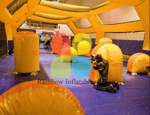 RB50030(customized)Inflatable paintball bunkers for sale