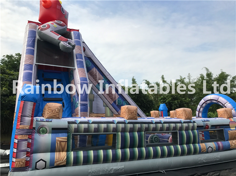 RB4121 (8x5x7.2m) Inflatables robot funcity