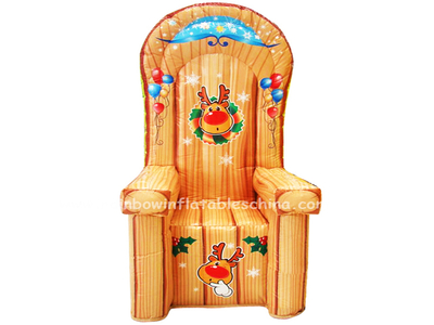 RB20006-7(1.3x1.3x2.4m) Inflatables Small Party Chair For Advertising Events