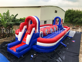 RB9004-6(17x6.3x3.9m) Inflatable Baller Game Sport Game For Sale