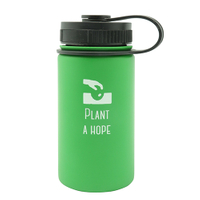 Stainless Steel Vacuum Sports Bottle With Loop 360ML