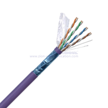 F/UTP CAT 6A BC PVC CM Twisted Pair Installation Cable