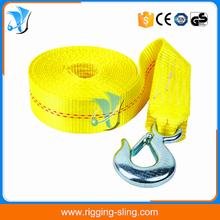 High Quality Winch Strap with Hook