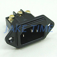 Audio Grade IEC 60320 C14 Power Plug