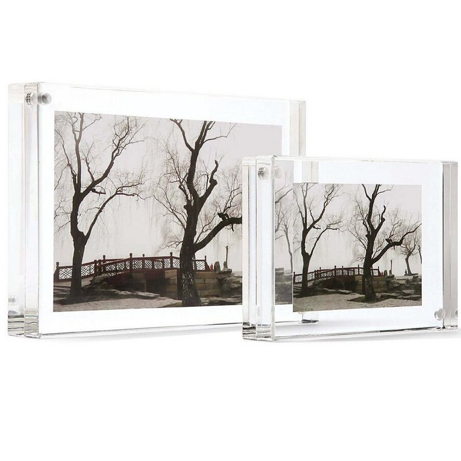 Wholesale Customized Crystal Clear Acrylic Magnetic Photo Frames ...