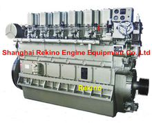 ZICHAI 6190ZLCZ Medium speed marine main propulsion diesel engine (250-1000HP)