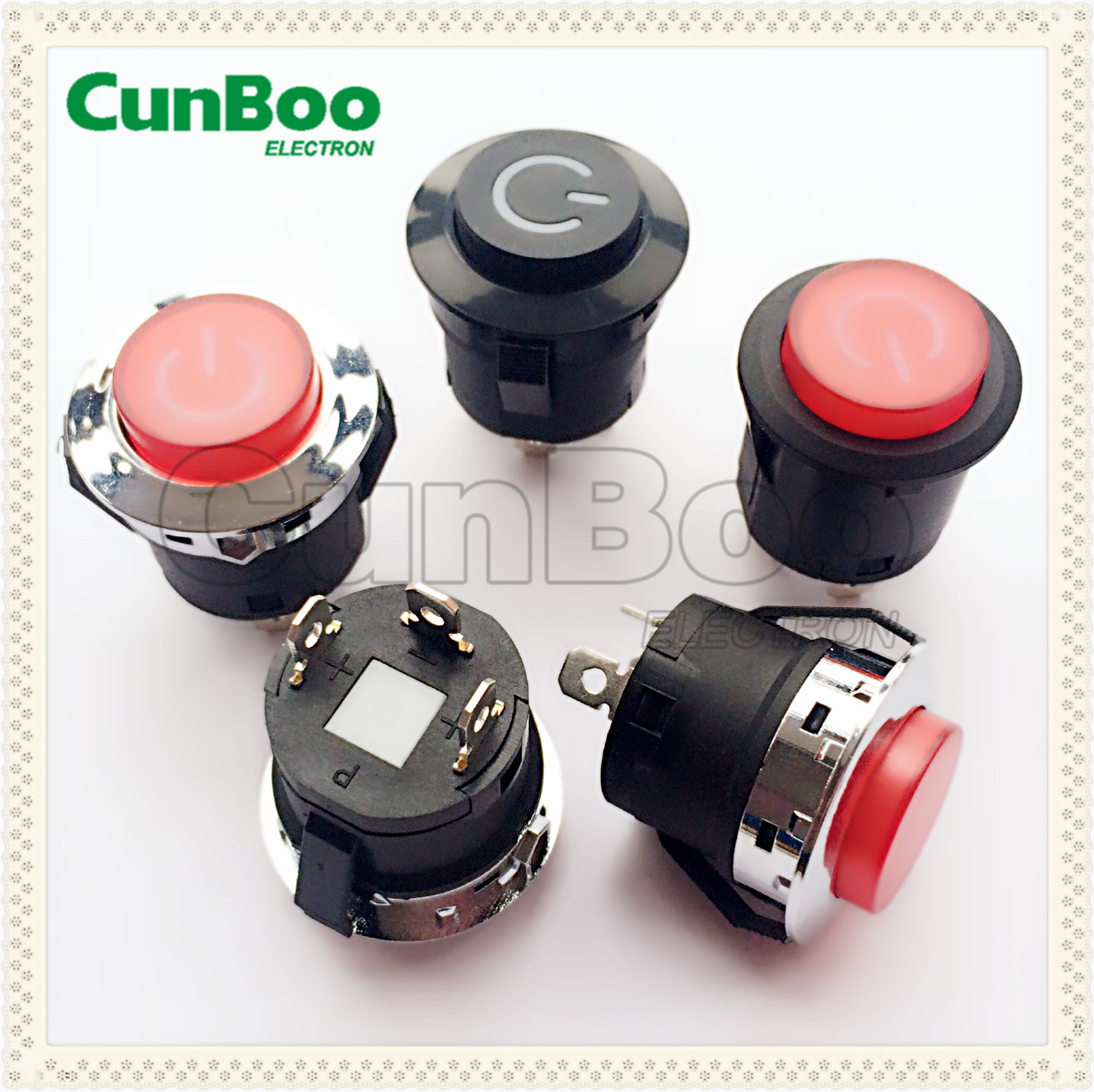 latching push button switch 10A 220v