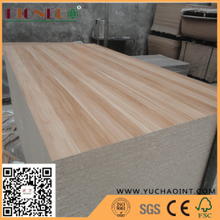 Wood Grain Melamine Laminated Particle Board/ Furniture Grade chipboard