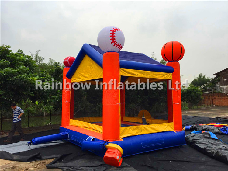RB1134( 4x4m ) Inflatables Popular sport balls Bouncer